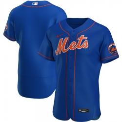 Men New York Mets Men Nike Royal Alternate 2020 Flex Base Official Team Name MLB Jersey