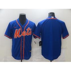 Men New York Mets Nike Blue Blank Jersey II