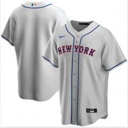 Men New York Mets Nike Gray Blank Jersey
