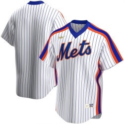Men New York Mets Nike Home Cooperstown Collection Team MLB Jersey White
