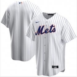 Men New York Mets Nike White Blank Jersey