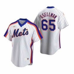 Mens Nike New York Mets 65 Robert Gsellman White Cooperstown Collection Home Stitched Baseball Jersey