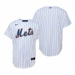 Mens Nike New York Mets Blank White Home Stitched Baseball Jersey