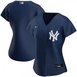 New York Yankees Nike Women Alternate 2020 MLB Team Jersey Navy