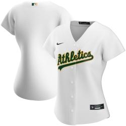 Oakland Athletics Nike Women Home 2020 MLB Team Jersey White