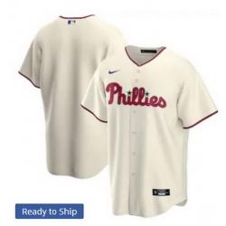 Men Philadelphia Phillies Nike Ice Cream Blank Jersey