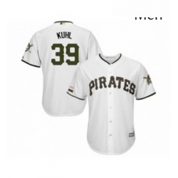 Mens Pittsburgh Pirates 39 Dave Parker Replica White Alternate Cool Base Baseball Jersey