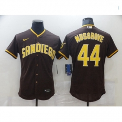 Men Nike San Diego Padres Joe Musgrove Brown Collection Baseball Player Jersey