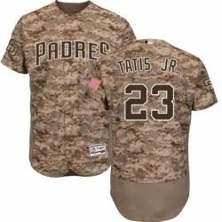 Men San Diego Padres Fernando Tatis Jr. Camo Stitched MLB Jersey