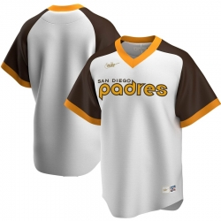 Men San Diego Padres Nike Home Cooperstown Collection Team MLB Jersey White
