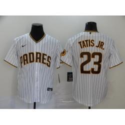 Padres 23 Fernando Tatis Jr  White Nike 2020 Cool Base Jersey