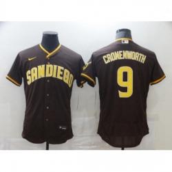 Youth Nike San Diego Padres 9 Jake Cronenworth Brown 2021 Road Player Jersey