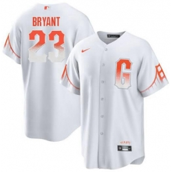 Men San Francisco Giants #23 Kris Bryant Jersey Trade City Connect Replica For Men - Stitched