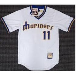 Mariners 11 White Jersey