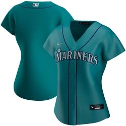 Seattle Mariners Nike Women Alternate 2020 MLB Team Jersey Aqua