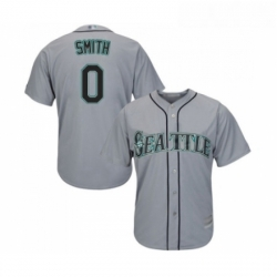 Youth Seattle Mariners 0 Mallex Smith Replica Grey Road Cool Base Baseball Jersey