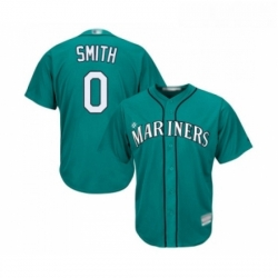 Youth Seattle Mariners 0 Mallex Smith Replica Teal Green Alternate Cool Base Baseball Jersey