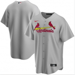 Men St. Louis Cardinals Nike Gray Blank Jersey
