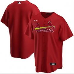 Men St. Louis Cardinals Nike Red Blank Jersey
