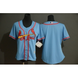 Cardinals Blank Youth Light Blue Flexbase Jersey