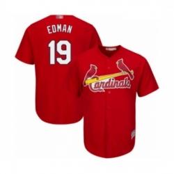 Youth St. Louis Cardinals #19 Tommy Edman Authentic Red Alternate Cool Base Baseball Player Jersey