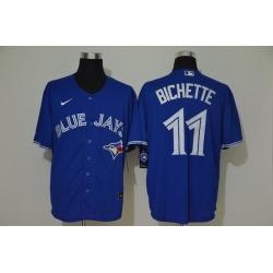 Blue Jays 11 Bo Bichette Royal 2020 Nike Cool Base Jersey