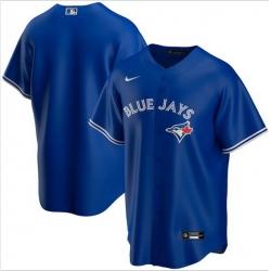 Men Toronto Blue Jays Nike Blue Blank Jersey