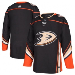 All Size Anaheim Ducks adidas Black Home Authentic Blank Jersey