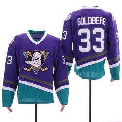 Anaheim Ducks 33 Greg Goldberg Purple Throwback Jersey