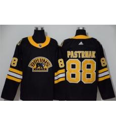 Bruins 88 David Pastrnak Black 3rd Adidas Jersey