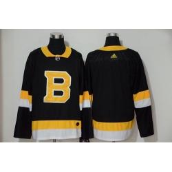 Bruins Blank Black Adidas Jersey