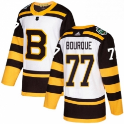 Mens Adidas Boston Bruins 77 Ray Bourque Authentic White 2019 Winter Classic NHL Jersey