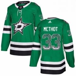 Mens Adidas Dallas Stars 33 Marc Methot Authentic Green Drift Fashion NHL Jersey