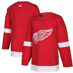 Men Detroit Red Wings Blank Jersey Red