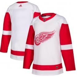 Men Detroit Red Wings Blank Jersey White