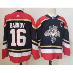 Panthers 16 Aleksander Barkov Black 2020 21 Reverse Retro Adidas Jersey