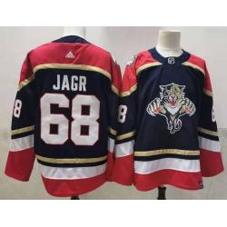 Panthers 68 Jaromir Jagr Black 2020 21 Reverse Retro Adidas Jersey