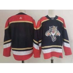 Panthers Blank Black 2020 21 Reverse Retro Adidas Jersey