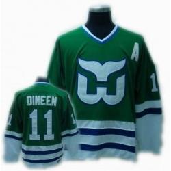 CCM Hartford Whalers jersey #11 Dineen jersey Green