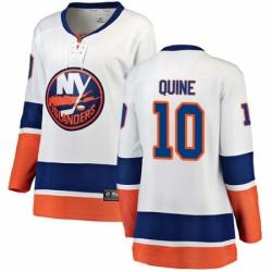 Womens Adidas New York Islanders 45 Noah Dobson Premier Blue Alternate NHL Jersey