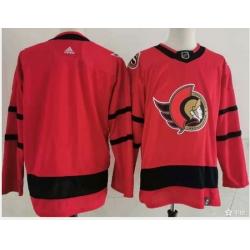 Ottawa Senators Blank Red Men Adidas 2020 21 Reverse Retro