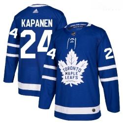 Maple Leafs 24 Kasperi Kapanen Blue Adidas Jersey