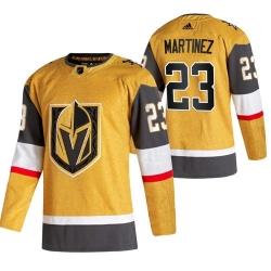 Vegas Golden Knights 23 Alec Martinez 2020 21 Men Gold Alternate Jersey
