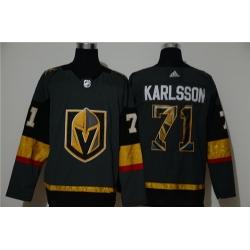Vegas Golden Knights 71 William Karlsson Gray Adidas Fashion Jersey