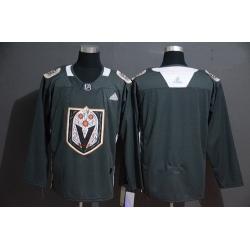 Vegas Golden Knights Blank Gray Dia De Los Muertos Adidas Jersey