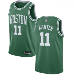 Celtics #11 Enes Kanter Green Basketball Swingman Icon Edition Jersey