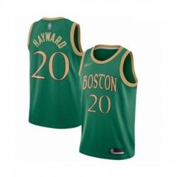 Celtics 20 Gordon Hayward Green Basketball Swingman City Edition 2019 20 Jersey