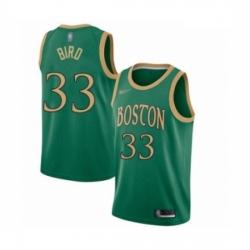 Celtics 33 Larry Bird Green Basketball Swingman City Edition 2019 20 Jersey