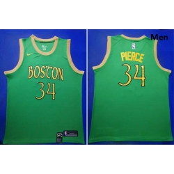 Celtics 34 Paul Pierce Green 2019 20 City Edition Swingman Jersey