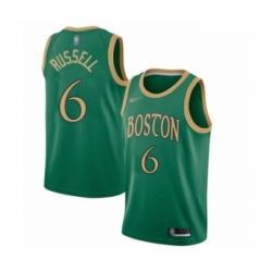 Celtics 6 Bill Russell Green Basketball Swingman City Edition 2019 20 Jersey